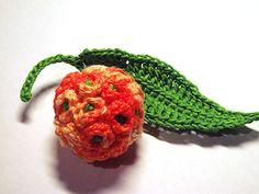 Ravelry: Orange Ball Tree Flower Crochet Pattern pattern by Camelia Shanahan