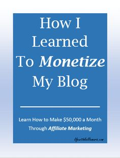 Want to make $50,000 a month from affiliate marketing? It sounds all too amazing but believe, it's possible! Learn how I was able to pay my college tuition.