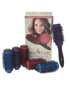 Sexy Curl Blowout Brush Set with Detachable Barrels >>> Read more  at the image link.
