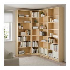 BILLY Bibliothèque - plaqué bouleau - IKEA