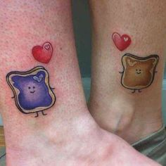 65 of the most beautiful Mother Daughter Tattoos EVER. These gorgeous tattoos and heartwarming stories show tattoo designs. Incredible tattoos of love. Bff Tattoos, Cute Best Friend Tattoos, Bestie Tattoo, Matching Best Friend Tattoos, Tattoo For Son, Family Tattoos, Funny Tattoos, Matching Tattoos, Couple Tattoos