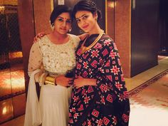 Shruti Haasan In Ikat saree At Shantanu & VJ Keerthi Wedding Reception... Check it out !