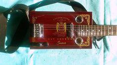 Cigarbox Guitar - Zigarrenbox Gitarre Magazine Rack, Guitar, Projects, Guitars, Musik, Log Projects, Blue Prints