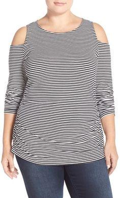 f851e7fee05ab 53 Best Cold shoulder tops   dresses plus size images