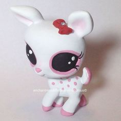 Custom Littlest Pet Shop Toy OOAK LPS Celine by RetroDollsUS. Follow me on instagram at retrodollsus.