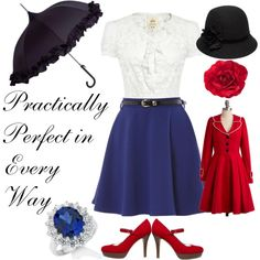 Mary Poppins Love the coat and shoes