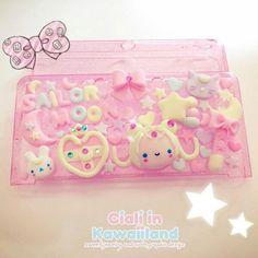 Items similar to Sailor moon inspired kawaii case for Nintendo DSLite / / XL on Etsy Etsy Crafts, Fun Crafts, 3ds Case, Sailor Moon Crafts, Kawaii Things, Kawaii Stuff, Kawaii Chibi, Cute Cases, Decoden