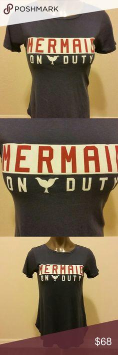 Wildfox Mermaid on Duty XS Tee Wildfox tee xs. Mermaid on Duty Wildfox Tops Tees - Short Sleeve
