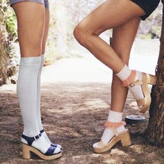 socks with shoes- not dying anytime soon!