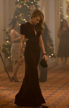 Blake Lively 1940's dress in Age of Adeline