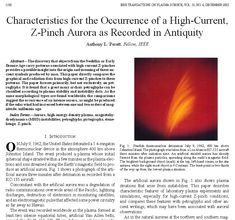 Anthony Peratt Z-Pinch Aurora 3 Theories About The Universe, Electric Universe, Ancient Symbols, Research Paper, Sacred Geometry, Mind Blown, Aurora, Meant To Be, Photographs