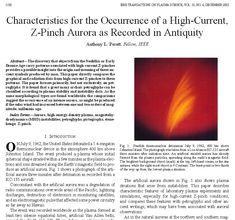 Anthony Peratt Z-Pinch Aurora 3