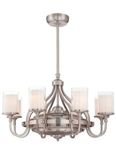 Etesian Air-Ionizing Fan d'Lier in Satin Nickel | House of Antique Hardware