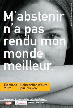 Nada de abstenerse a votar. No dejen que alguien mas decida por ustedes