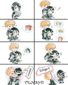 Bleach IchiRuki - Guess Who?