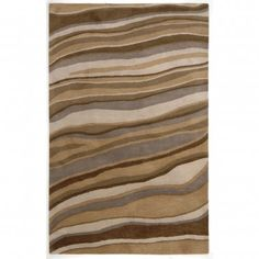 Jaipur Rugs Coastal Living Hand-Tufted Dunes Drift Oyster Contemporary Rug - CH05