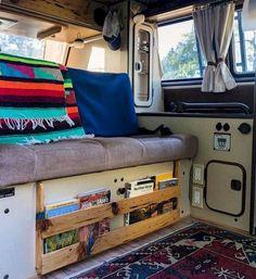 Stunning Camper Van Interior 72 Ideas