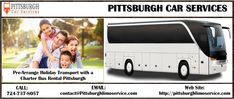 Pre-Arrange Holiday Transport with a Charter Bus Rental Pittsburgh
