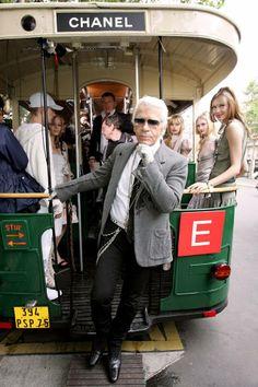 Karl Lagerfeld ~ Chanel trolly <3