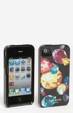 Love this kate spade new york 'king jewels' iPhone case! Bought it!