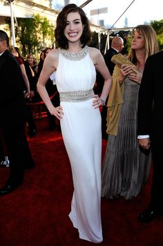 Anne Hathaway in 15th Annual Screen Actors Guild Awards - Red Carpet