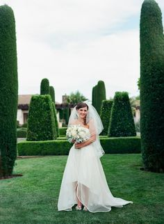 Elegant California Wine Country Wedding at The Vintage Estate Villagio Inn & Spa designed by Soiree by Simone and photographed by Q Weddings.