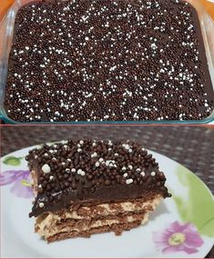Greek Sweets, Greek Desserts, Party Desserts, Summer Desserts, Greek Recipes, Chocolate Sweets, Chocolate Recipes, Sweets Cake, Cupcake Cakes