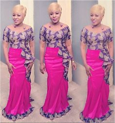 Creative Aso Ebi Gown Design for Ladies - DeZango Fashion Zone