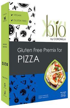 Bio XXI Pizza Dough Premix Pizza Dough, Soul Food, Gluten Free, Vegan, Glutenfree, Bread Pizza