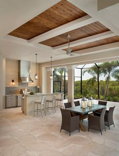 Stock Development: Bay Woods at Bonita Bay: Cameron Wooden Ceiling Design, House Ceiling Design, Ceiling Design Living Room, Bedroom False Ceiling Design, Ceiling Light Design, Home Ceiling, Ceiling Decor, Living Room Designs, Ceiling Ideas