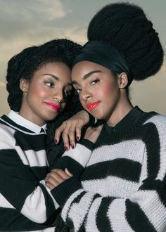 & Other Stories Wonder Twins, Tk Wonder, Quann Sisters, Curly Hair Styles, Natural Hair Styles, Natural Beauty, Coily Hair, Kinky Hair, Twin Models