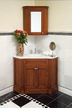 Images On Marseille Corner Mirror Cabinet Bathroom Mirrors Bath HomeDecorators Bathroom Stuff Pinterest Corner vanity Vanities and Bath