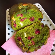 Cake thé macha, chocolat blanc, framboise, ou hulk cake de hugo