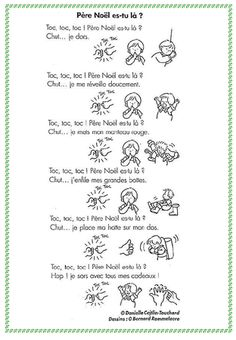 1000 images about poesie on pinterest noel rhyming - Noel est a votre porte ...