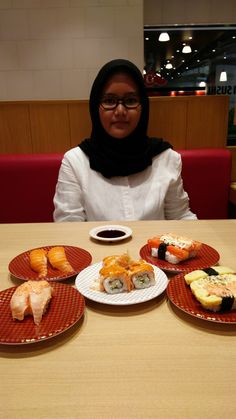 Quality Time with My Lovely Daughter at Genki Sushi Pondok Indah Mall...