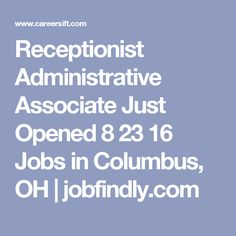 Quality Control Oversight Associate Jobs In Columbus Ohio