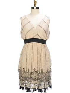 Kristin Miles - Sweet border printed mesh fabric dress  #plus #size #fashion #dress #print