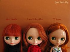 Red hairs comparison