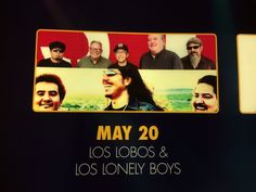 LOS LOBOS & LOS LONELY BOYS 2017 TOUR @ BUFFALO BILLS STAR OF THE DESERT ARENA