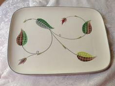 Denby Stoneware Spring Serving Platter by VintageDishCupboard, $16.00