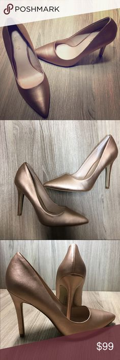 CHARLES by Charles David rose gold designer pumps CHARLES by Charles David designer rose gold pumps, brand new, size 7. Charles David Shoes Heels