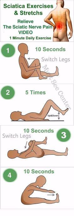 Sciatica Exercises Stretches