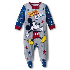 Disney® Newborn Boys' Mickey Mouse Sleep N' Play - Blue