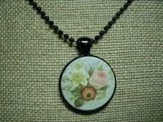 Victorian Roses Necklace by UnearthlyTreasures on Etsy, $10.00