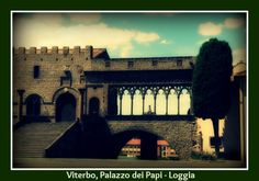 The beautiful #lodge of the #Popes's #Palace, Come to visit #Tuscia!!!