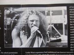 1977 Foreigner, Lou Gramm, photo Neil Zlozower (folder CD - Classic hits live)