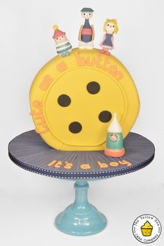 We're off to Button Moon...