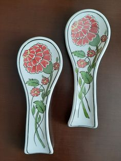 Ceramic Spoons, Wooden Spoons, Dot Painting, Spoon Rest, Diy Kitchen, Mosaic, Tableware, Modern, Crafts