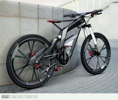 A bike designed by Audi..