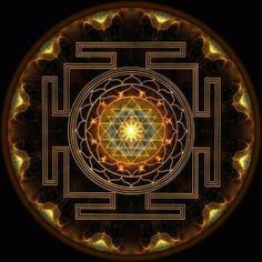 This sacred symbol is mounted on a high-quality glass gem. The Sri Yantra is one of the most powerful Yantras in the world symbolizing the creation of the Universe. Enhance your abundance with the pow Sri Yantra, Sacred Symbols, Sacred Art, Geometry Art, Sacred Geometry, Hindu Symbole, Yoga Symbole, Motif Oriental, Spiritus